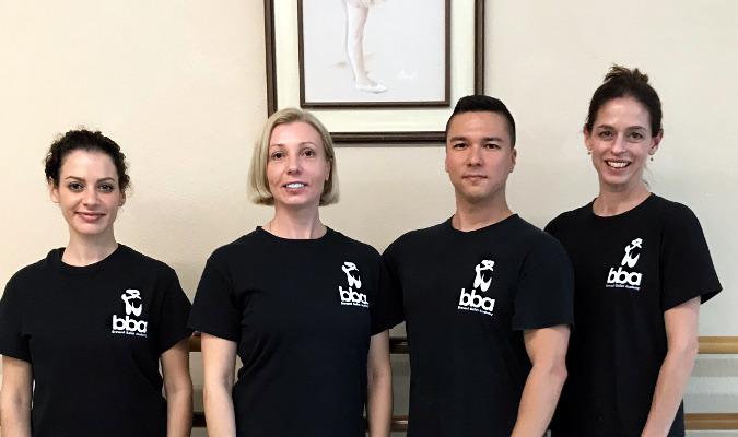 Brevard Ballet Academy faculty